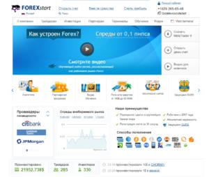 обзор брокера fxstart