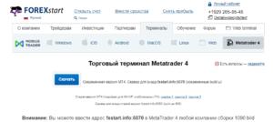 fxstart торговые платформы