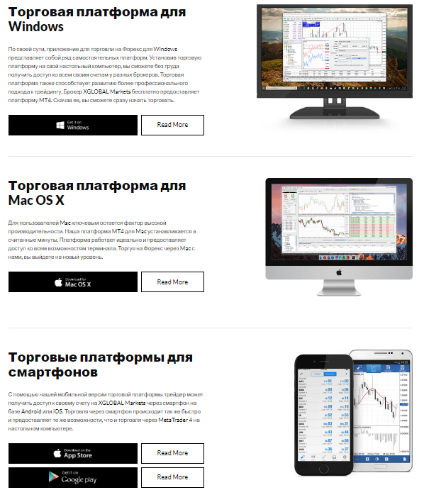 платформы xglobal markets