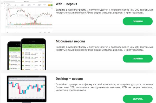торговая платформа IC finance