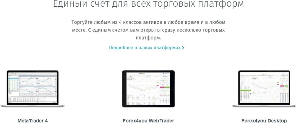 forex4you-вход