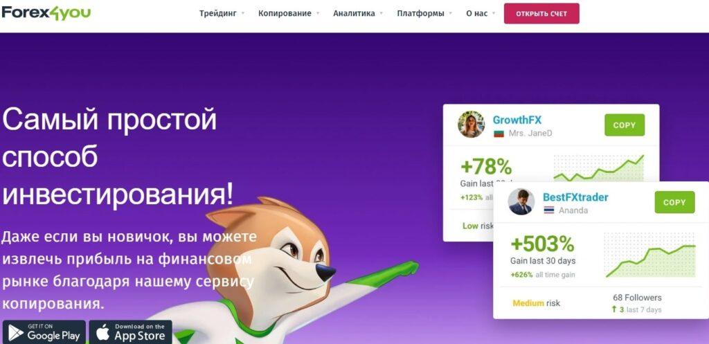 forex4you-скачать